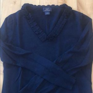 Brooks Brothers Wool V-neck Sweater